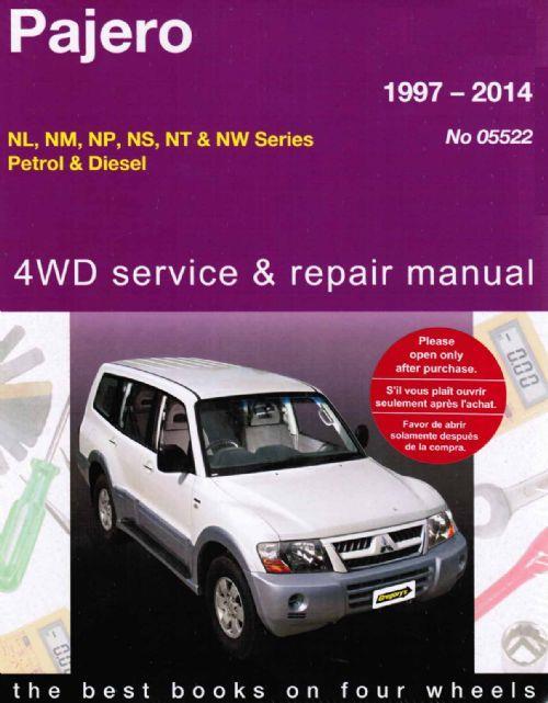 mitsubishi pajero wiring diagrams lionel train diagram 4wd petrol & diesel 1997 - 2014 gregorys owners service repair manual ...