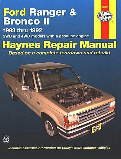 1988 Ford Ranger Ignition Wiring Diagram Additionally 1992 Ford Ranger