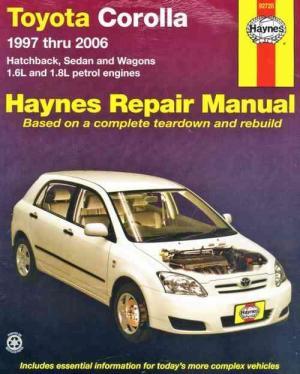Toyota Corolla 1997  2006 Haynes Owners Service & Repair