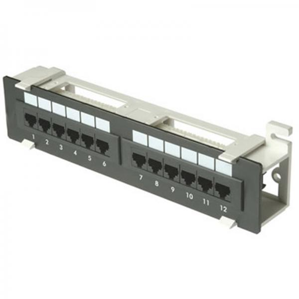 T568a Wire Diagram Zpp12 W Cat6 12 Port 1u Patch Panel Cat6 110 T568a Or
