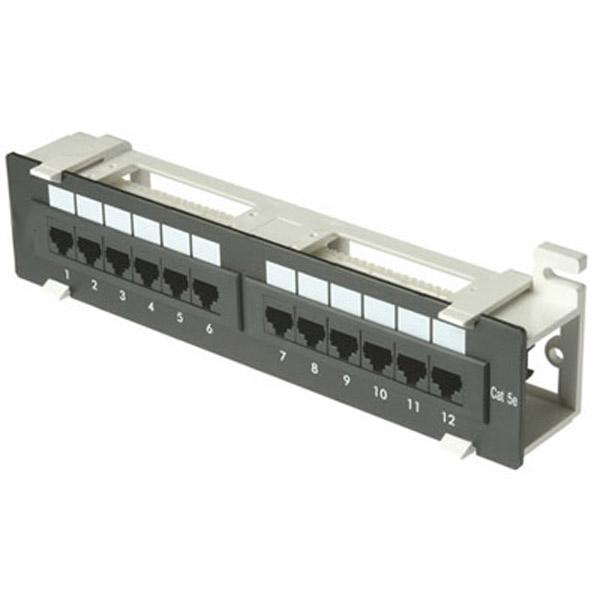 cat5e t568a wiring diagram 2004 vw touareg radio zpp12-we: 12 port (1u) patch panel - 110 or t568b wall mount