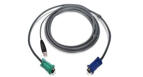 IOGEAR 8-Port USB PS/2 Combo VGA KVMP Switch with USB KVM