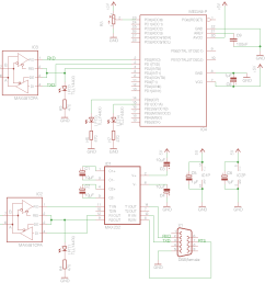 wiring diagram for a minimum circuit which the test program is written for [ 1162 x 954 Pixel ]