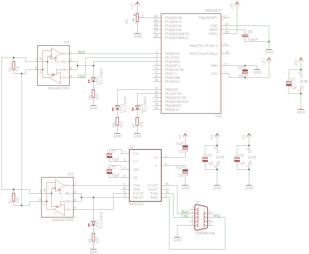medium resolution of wiring diagram for a minimum circuit which the test program is written for