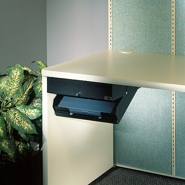 Desk With Locking Drawers