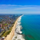 Gold Coast coastline from the air
