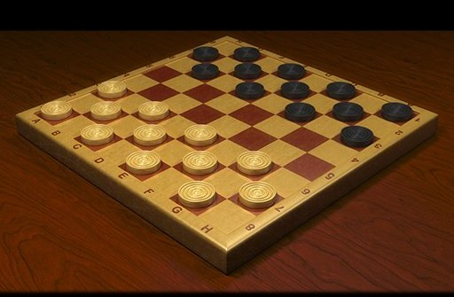 Checkers Dama chess board - kostenlos bei Computerspiele.at!