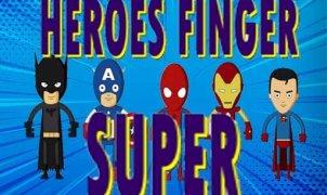 Super Heroes Finger kostenlos bei Computerspiele.at spielen!