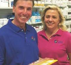 Daniel Cutie, R.Ph., and Marilyn Goulty, C.P.A, owners of Cutie Pharma-Care in Greenwich, N.Y.