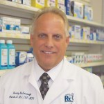 Randy McDonough, Pharm.D., co-owner and director of clinical services at Towncrest Pharmacy in Iowa City, Iowa
