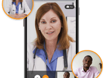 Updox live video chat HIMSS19