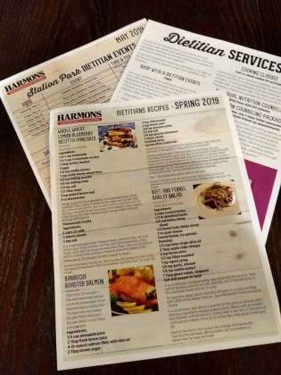 Harmons healthy living posters and flyers