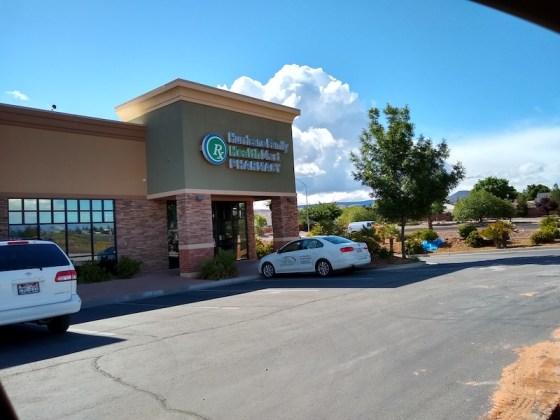 Cliff Holt, R.Ph., opened Hurricane Family Pharmacy opened 10 years ago in Hurricane, Utah.