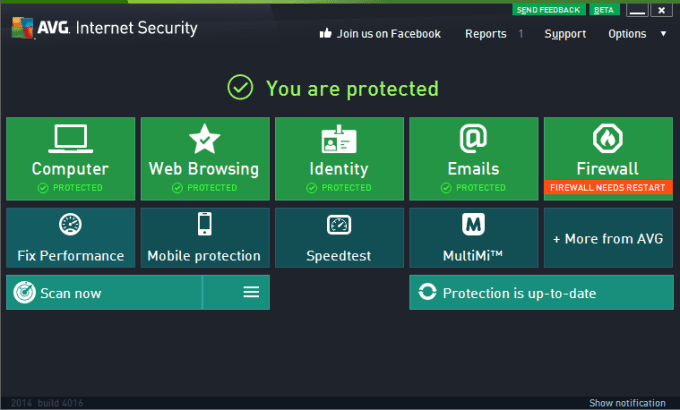 free avg internet security
