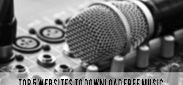 Top 5 Best Sites To Download Free Music 2015