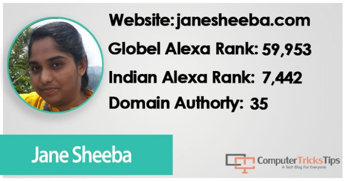 Jane Sheeba