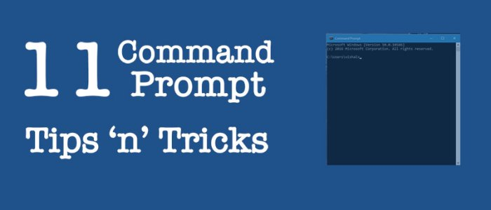 11 Best Command Prompt Tricks and Codes in 2015