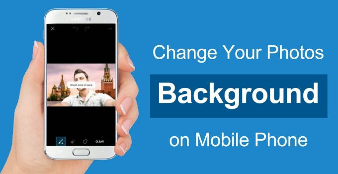 How To Change Photo Background on Smartphone