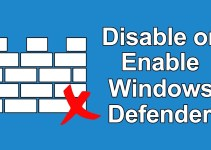 How to Disable and Enable Windows Defender in Windows
