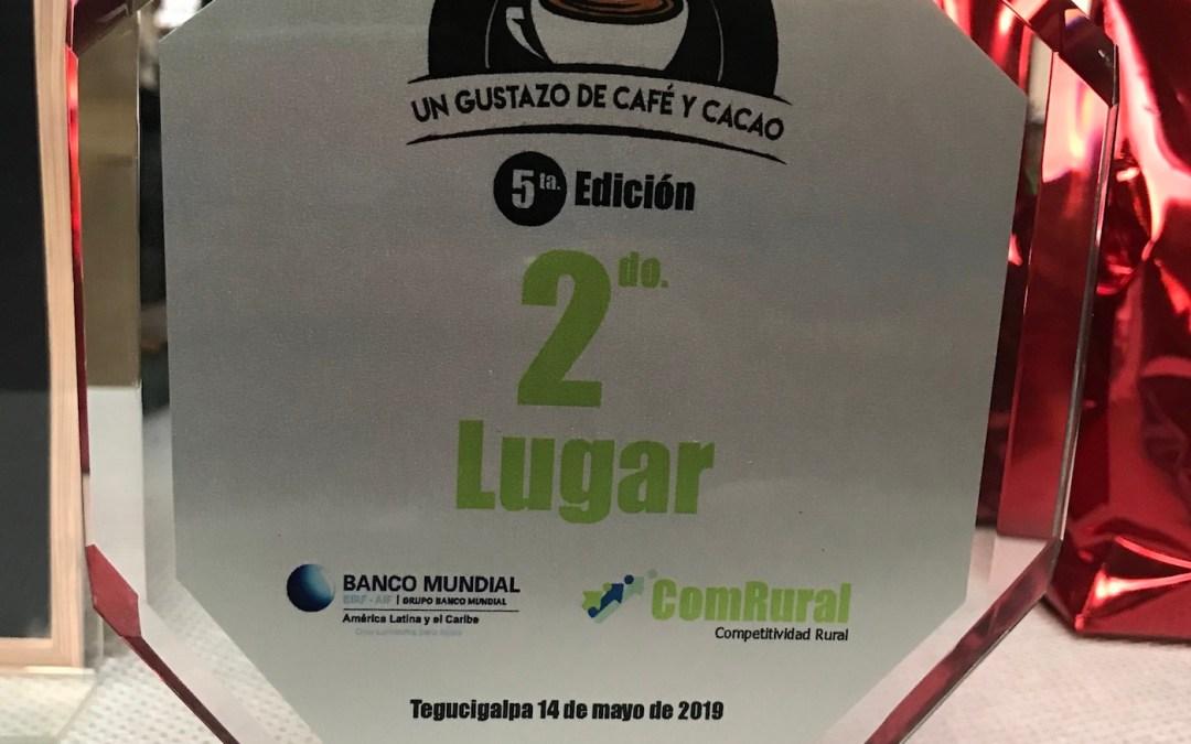 COMSA segundo lugar en Un Gustazo de Café y Cacao