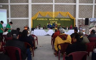 Los Socios y socias de COMSA, realizan 18 Asamblea General Extraordinaria y la Asamblea General Ordinaria