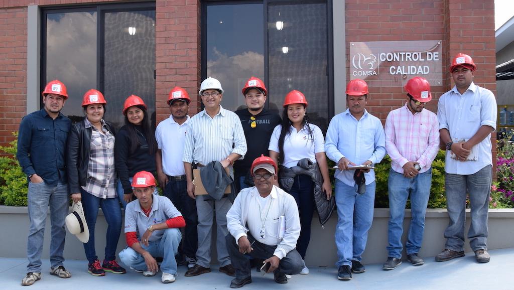 Productores del sur de Honduras son parte de la transferencia de conocimiento en COMSA