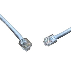 rj11 plug to plug extension lead also know as a line extension cord more details [ 900 x 900 Pixel ]