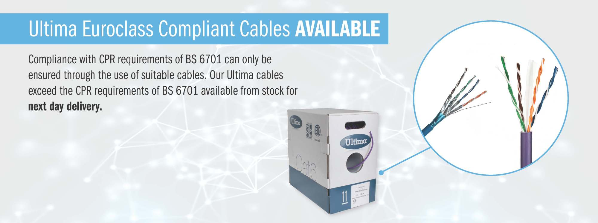 hight resolution of  ultima cpr compliant cables