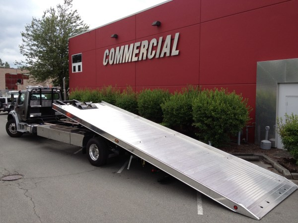 Towing Equipment Flat Bed Car Carriers Tow Truck
