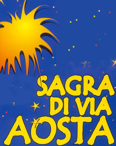 Logo Sagra di via Aosta