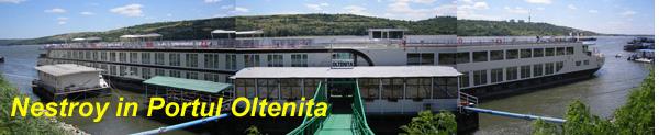 Nestroy in portul Oltenita