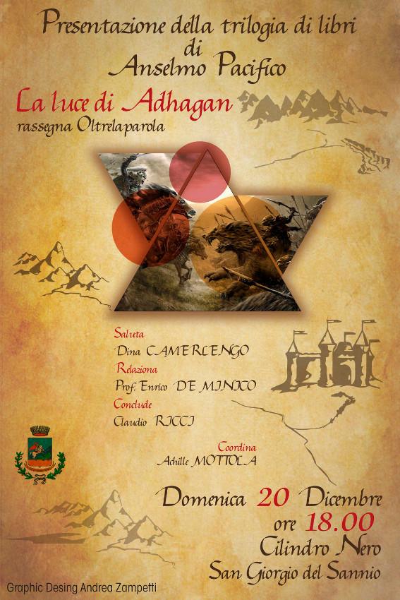 Presentazione dei libri di Anselmo Pacifico domenica 20 dicembre alle ore 18.00 al Cilindro Nero