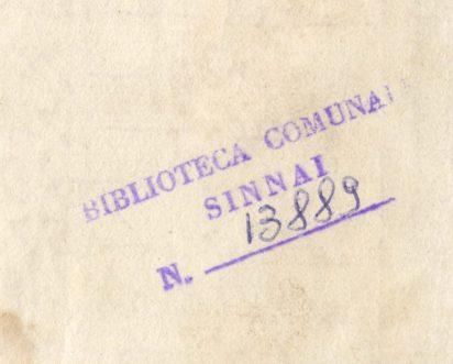 Numero Inventario