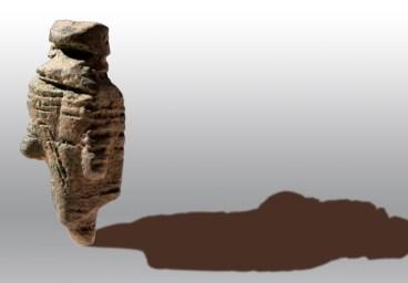 Amuleto di bronzo da Bruncu Mogumu