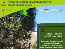 10.000 passi in salute a Sacile / 31 ottobre 2020