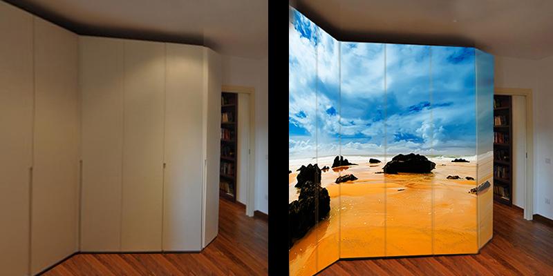 Esempi pratici e soluzioni di wrapping per interior design