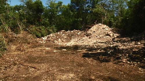 Destruyen vestigios arqueológicos en Chemblás - ComunicaCampeche.com.mx