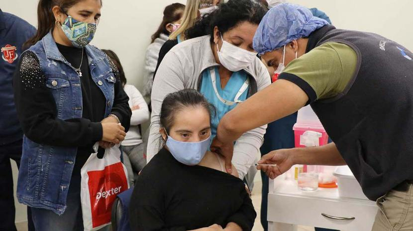 Comenzó la vacunación para personas con Síndrome de Down