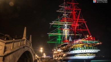 Photo of La nave Amerigo Vespucci, la più bella del mondo torna a navigare