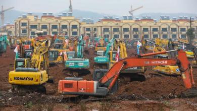 Photo of Ospedale con 1000 posti letto in 10 giorni. Record in Cina