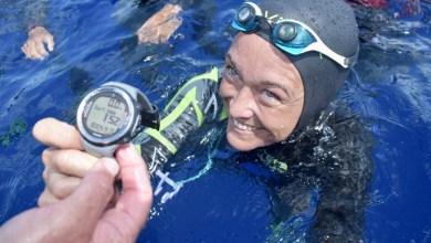 """Photo of Alessia Zecchini è la donna più """"profonda"""" del pianeta"""