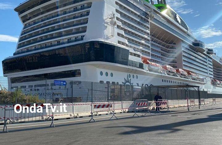 MSG Grandiosa al porto di Palermo