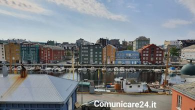 Photo of Trondheim,  Relax con vista sul fiordo in Norvegia