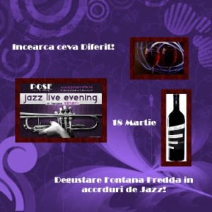 Degustare vinuri Pose Cafe & lounge