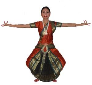 Dans Indian Bharatanatyam