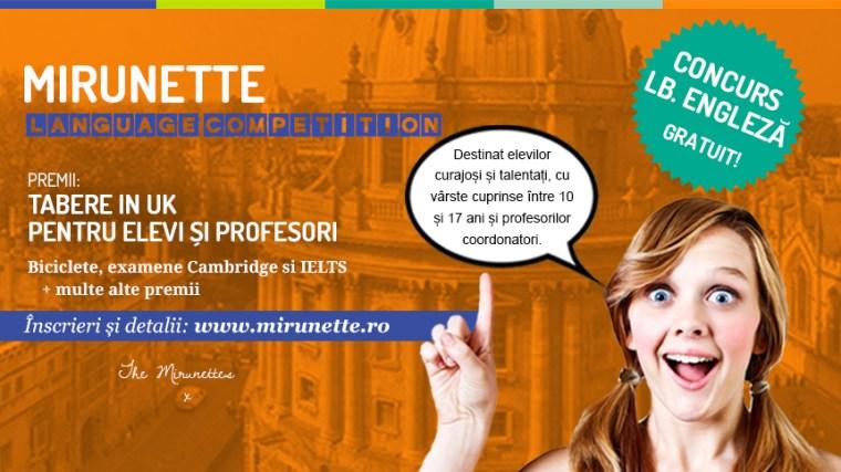 Concurs Mirunette Language Competition