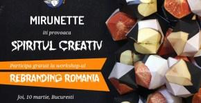Workshop gratuit Mirunette.ro! Locuri limitate!