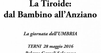 Tiroide convegno Terni