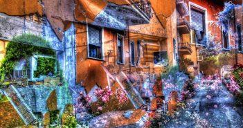 """Demorfismo: """"Inutile fioritura"""", fotografia dell'artista Giovanni Bevilacqua"""