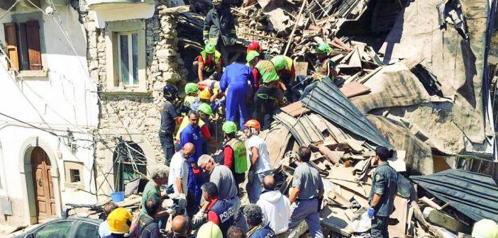 Terremoto, l'autrice Barbara Appiano in visita alle zone terremotate